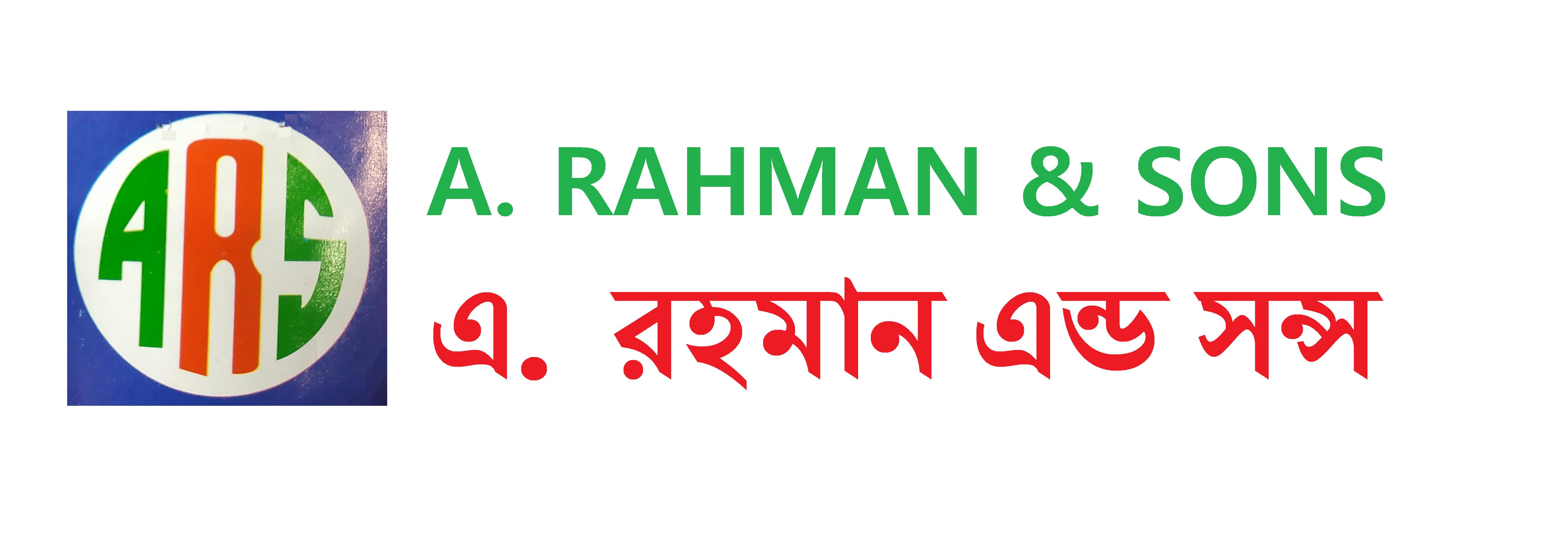 A. RAHMAN & SONS