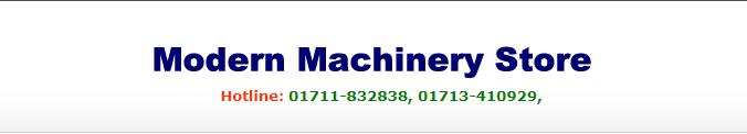 MODERN MACHINERY STORE