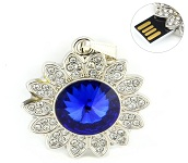 8GB USB Crystall Decorated Flash Drive