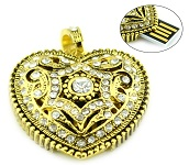 8GB Usb Flash Drive with Heart shape Pendent