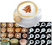 Coffee Designing Stencil