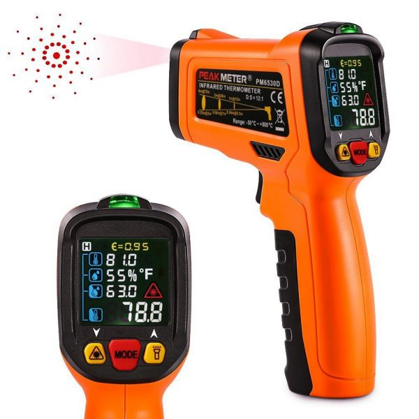 Infrared Thermometer 2in1