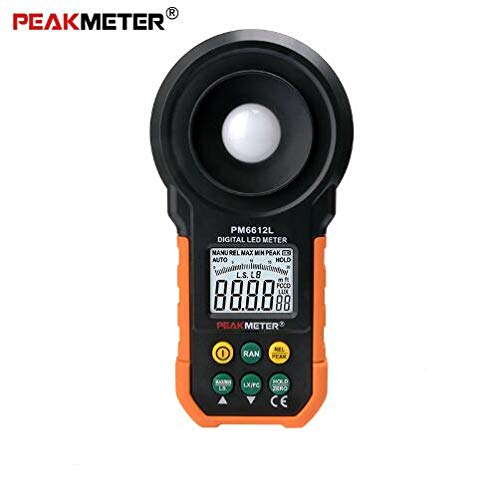 PEAKMETER Digital Light Lux Meter