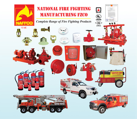 NAFFCO Fire & Safety products