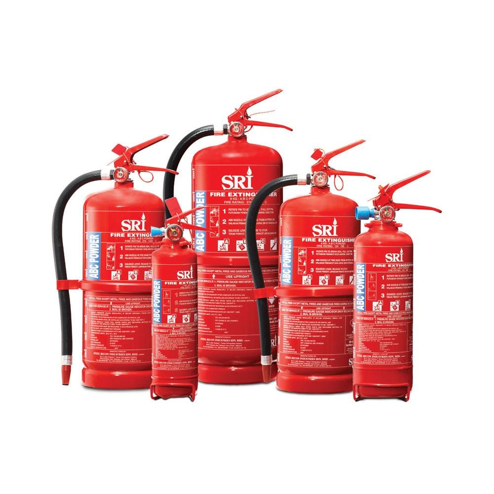 Portable Dry Powder Fire Extinguisher