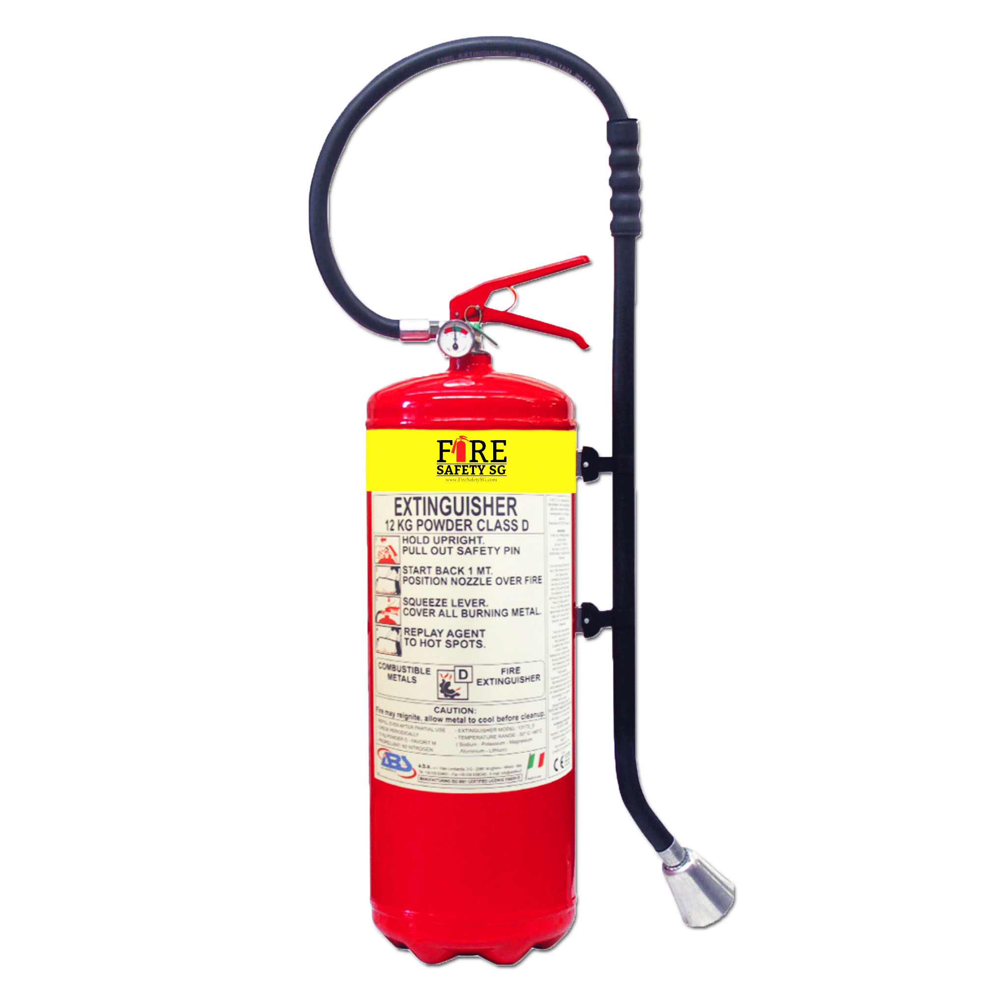 D Fire Extinguisher
