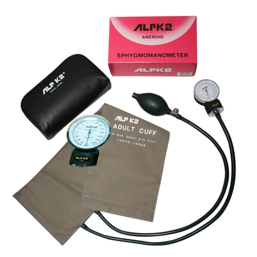 ALRK2 BP Machine With Stethoscop