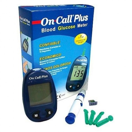 On-call Plus Blood Glucose Monitor
