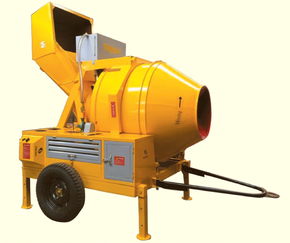 18 C.F.T Hopper Mixture Machine