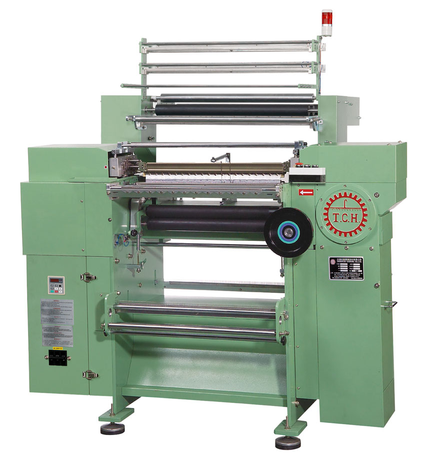Double Bed Warp Knitting Machine  TSL 58