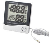 Hygrometer with Indoor Outdoor Sensor HTC-2