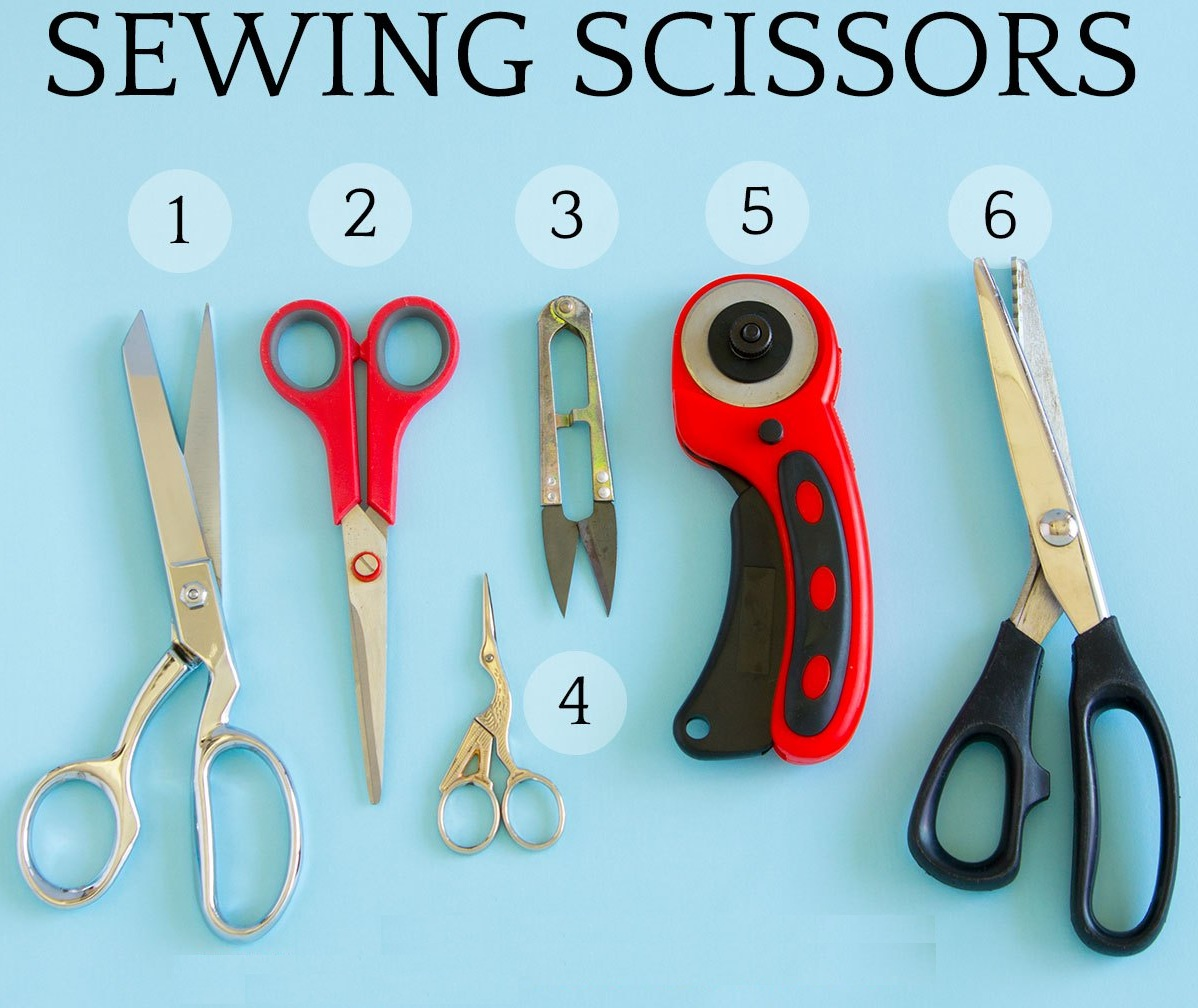 Sewing scissors And Tools