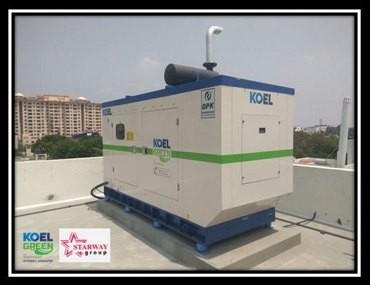 Kirloskar Diesel Genset 62.5 KVA in Bangladesh.