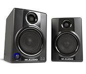 M-Audio Studiophile AV 40  (Active Studio Monitor/Desktop Speakers for Composing, Mixing & Recording)
