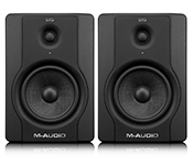 Compact Active Studio Monitor Speakers M-Audio BX5 D2