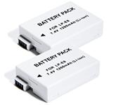 Battery for Digital Camera DILL 2 PACK [7.4V 1200mAh]
