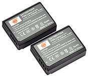 Replacement Battery for Canon DSTE® 2pcs LP-E10