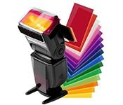 12 Color Flash Diffuser Kit for CANON