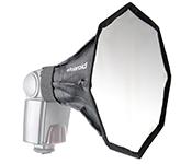 12 PolUniversal Studio Octagon Soft Box Flash Diffuser
