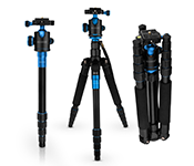 Caseflex Premium Alloy Professional Tripod Stand With Ball Head Mount