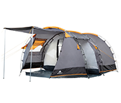 CampFeuer®  Tunnel Tent, 410 x 260 x 150 cm, 4 Person