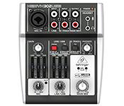 Behringer 5 Input Mixer 302USB Xenyx