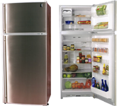 GE Top Mount No Frost Refrigerator PTQ-470