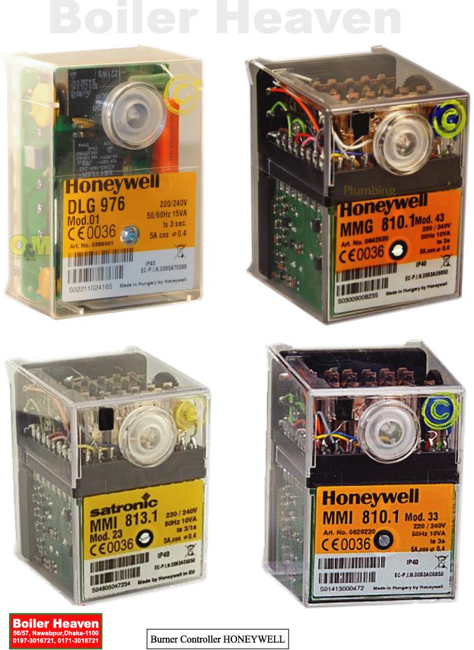 Controller ( Honeywell+ Siemens )