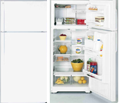 GE Top Mount No Frost Refrigerator GTG-17