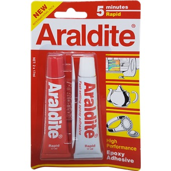 ARALDITE RAPID 5 MINUTES (RED)